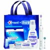 Crest+Oral-B Whitening Electric Rechargeable System w/ Crest 3D White Strips