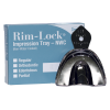 Rim-Lock NWC Edentulous Metal Impression Tray Set